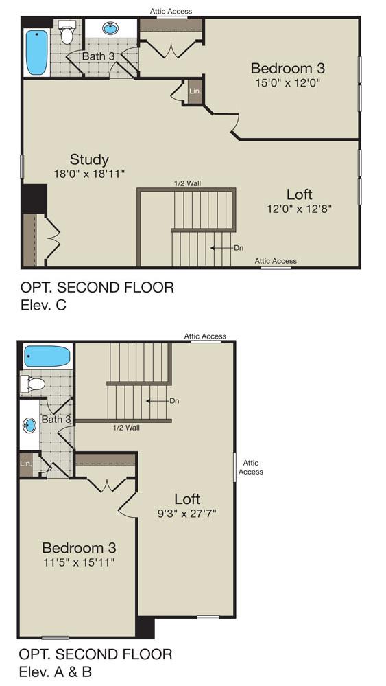 CG_Vivien Floor Plan_Second Floor