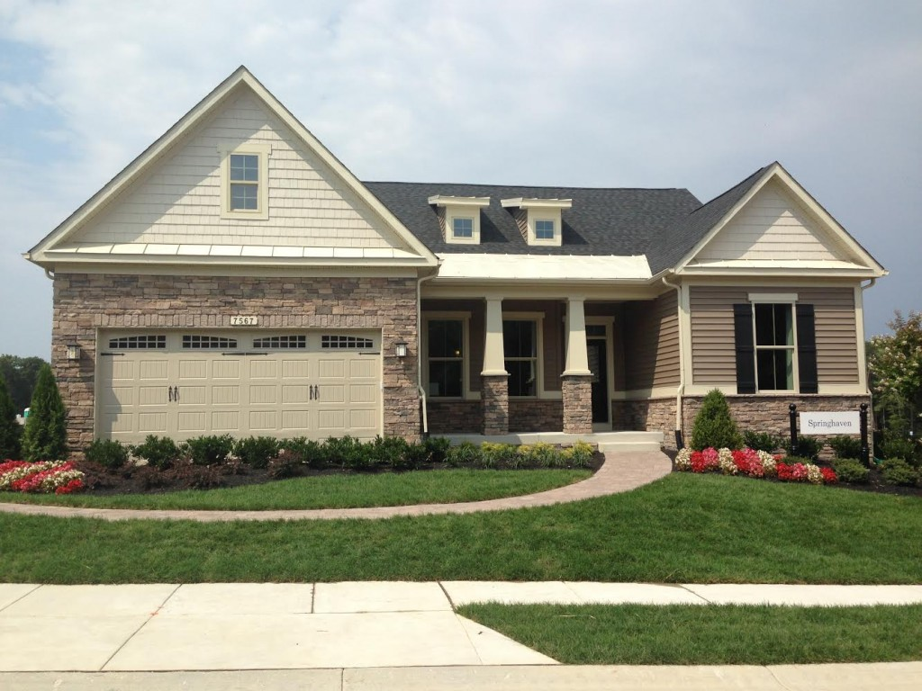 home adult active community Maryland new