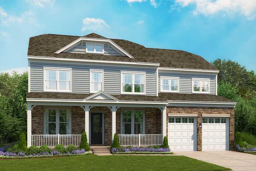 Breckenridge floor plan odenton new homes anne arundel for Breckenridge builders