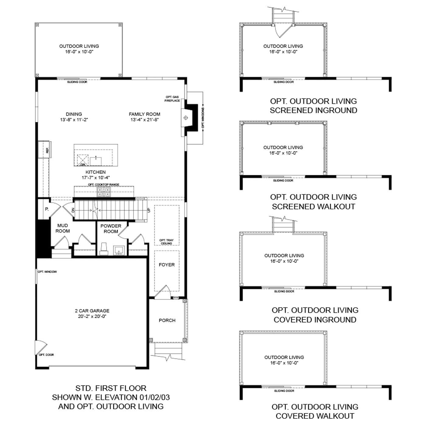 Heron Floor Plan | Odenton New Homes | Anne Arundel County ... on