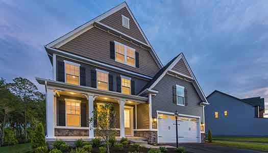 Danville Home Model at Two Rivers