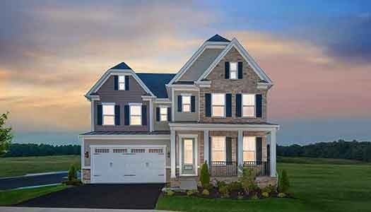 NV Signature Home The Tyler at Two Rivers in Odenton